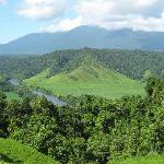Spectacular views from an Argo 8x8 Rainforest tour