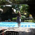 Puri Wisata's pool