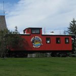 Iconic Red Caboose