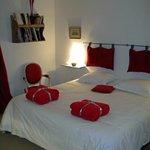 the romantic geranium bedroom