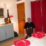 the geranium bedroom