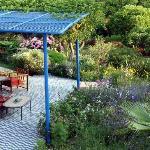 une terrasse en fin d'aprés-midi