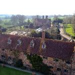 House from Sissinghurst Castle Tower