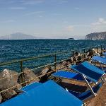 The private sundeck on the sea