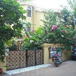 Guesthouse front gate