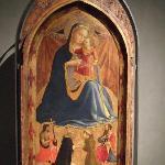 フラ・アンジェリコの聖母子像