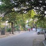 Street outside Amaaya
