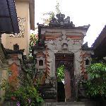 宿の入り口