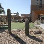Nice pool/ putting green/ patio area