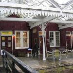 Victorian railway station, Strathpeffer