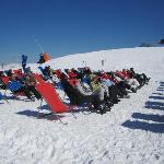 lots of deck chairs!