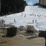 Slope to hotel