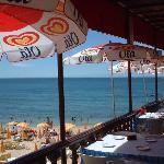Beach cafe near Albufeira