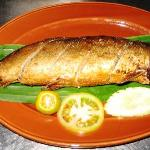 Relyeno Bangus (stuffed boneless 'milk-fish')