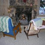 Enjoy the fireplace