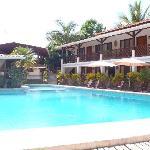 chambres face a la piscine