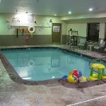 The pool with free toys in it