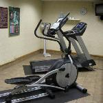 The small fitness center