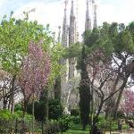 Gaudi's Catedral de Sagrada Familia