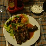 Staffed Vine leaves-(dolmades)