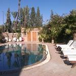 Photo on swiming pool