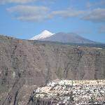 Teide with snow