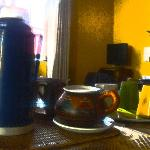 Café y Té gratis todo el día