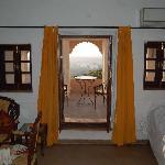 bedroom to balcony