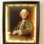ハウスの中に飾られていた肖像画です