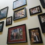 Sweet photos on the wall