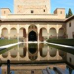è la classica foto dell'alhambra