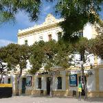 RENFE Sitges rail station (being renovated)