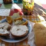 Bagel Breakfast at Easy Rock YUM