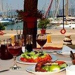 restaurant argo marina gouvia