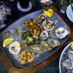 Oyster Sampler Platter