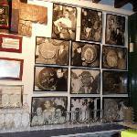cool b & w photos at Bar El Pimpi