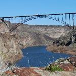 Nearby Perrine Bridge over Snake River, near Twin Falls, ID
