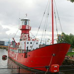 Lightship in Cardiff Bay