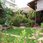 El jardin muy linda.