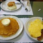 Breakfast Special & a Bacon/Egg/Cheese Biscuit
