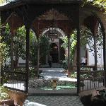 Gazebo in the courtyard
