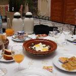 petit déjeuner pour bien commencer la journée !