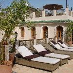 les terrasses, avec bains de soleil notamment