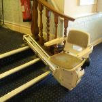 The shortest stairlift in the world?