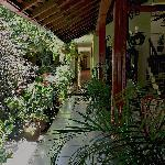 Interior courtyard & garden