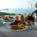 Breakfast at La Mariposa