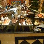 desserts au buffet du coba