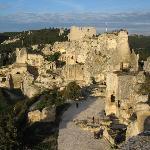 Chateau des baux en provence