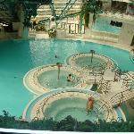 Las piscinas