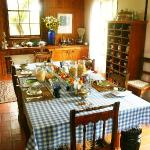 breakfast in the main house